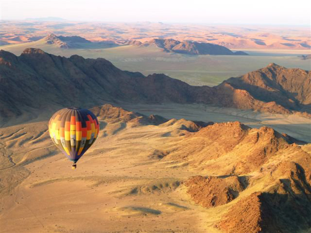ballooning hot air balloon le mirage sossusvlei