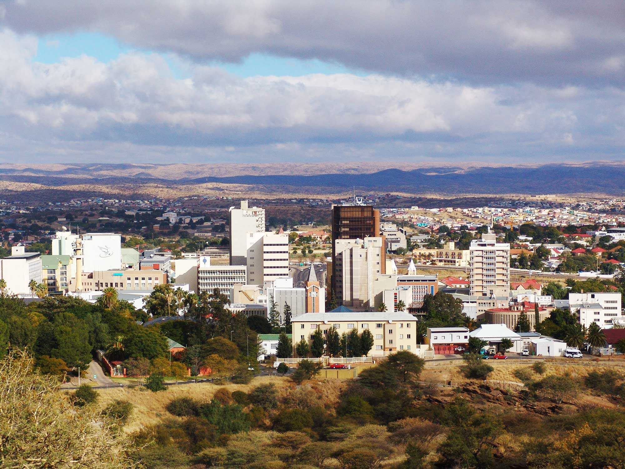 Central Windhoek.