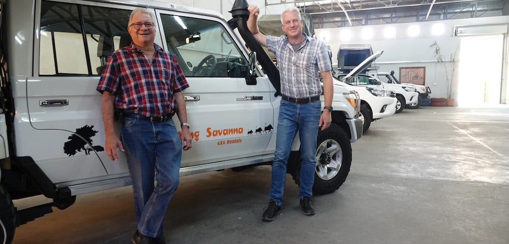 savanna car hire