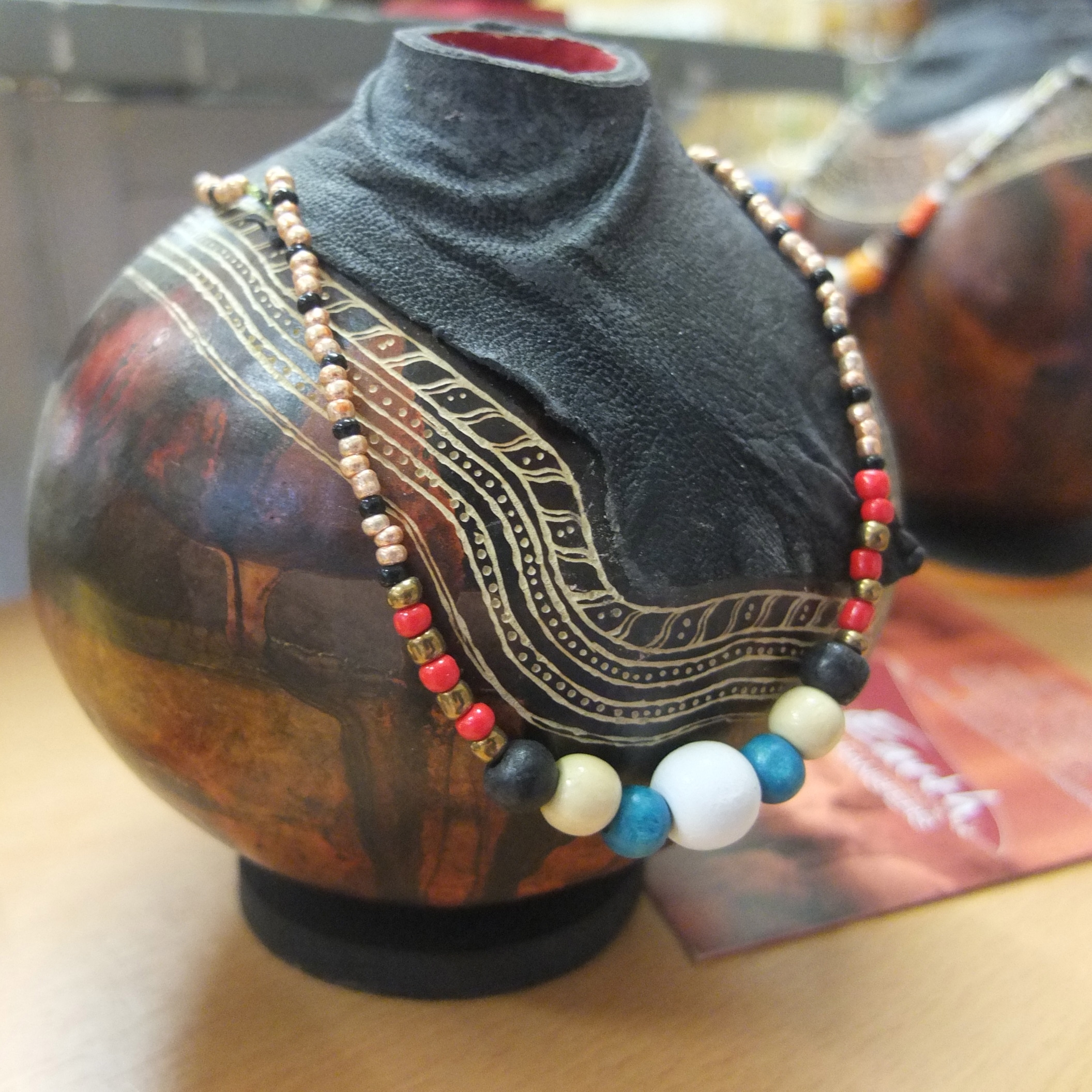 Namibian made necklaces