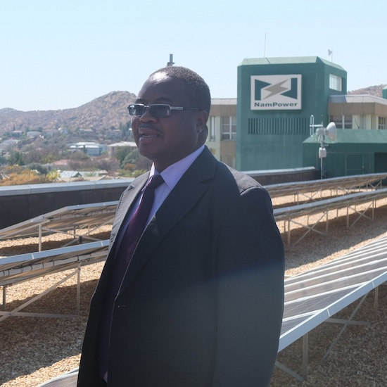 NamPower Managing Director Paulinus Shilamba