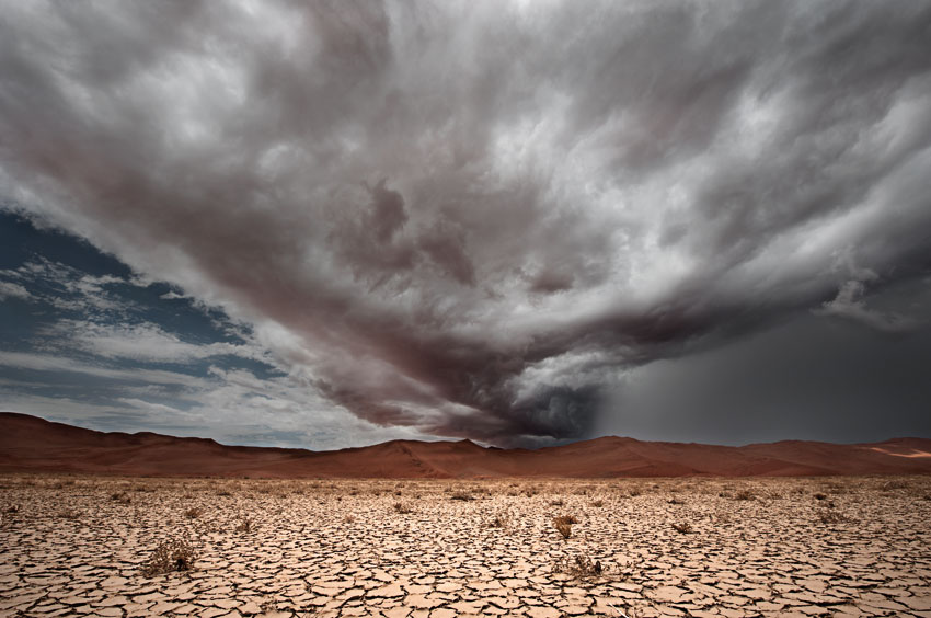 Desertstorm. Photo ©Paul van Schalkwyk