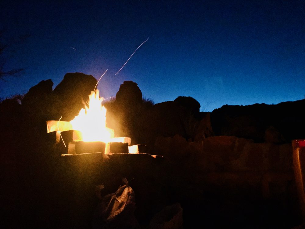 Campfire, Annelien Robberts, Travel News Namibia.