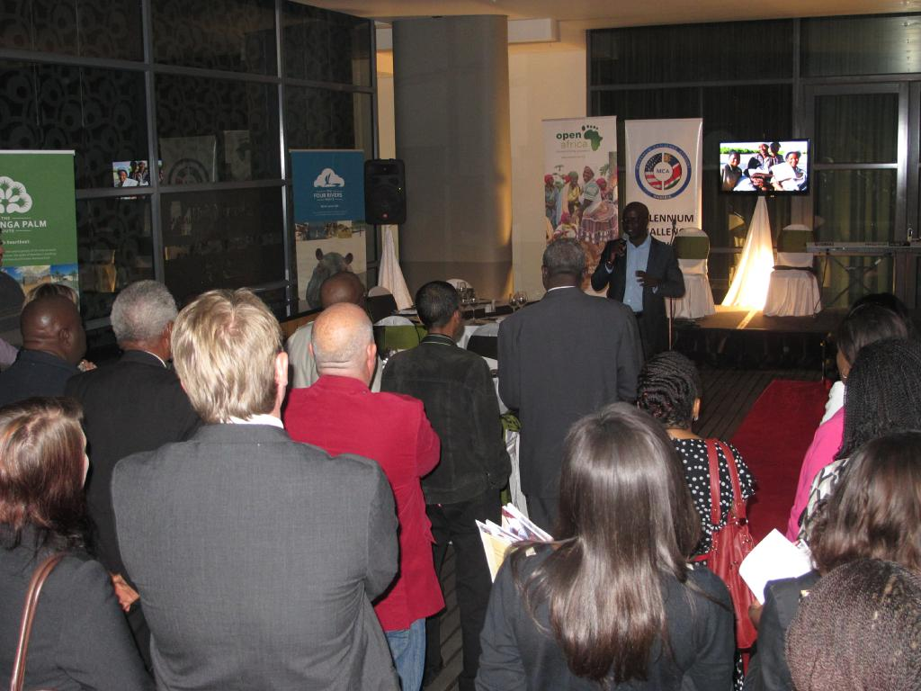 More than 100 people attented the launch event at Windhoek's Hilton Hotel.