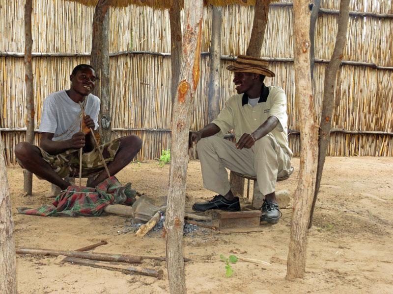 Namushasha community members.