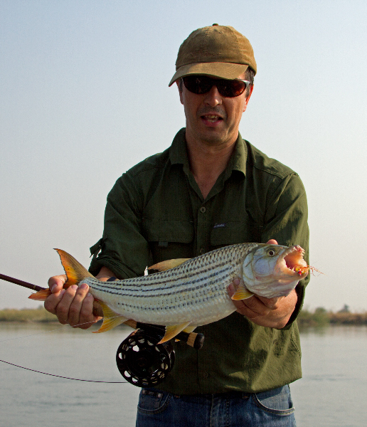 mark paxton tiger fishing angling okavango