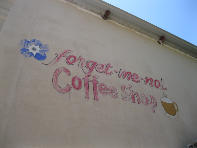 rundu coffee shop forget me not marita