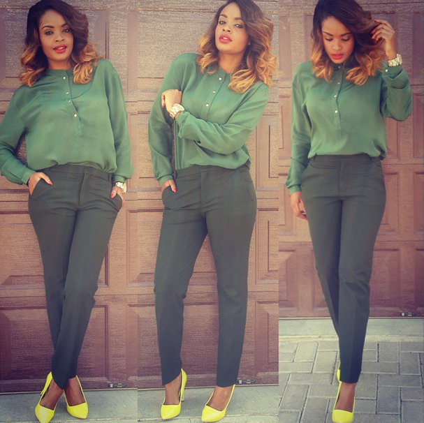 Dillish Mathews will leave her heels behind ... and discover her Namibia.