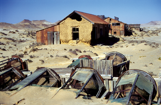 Sperrgebiet Ghost Town. Photo ©Paul van Schalkwyk.