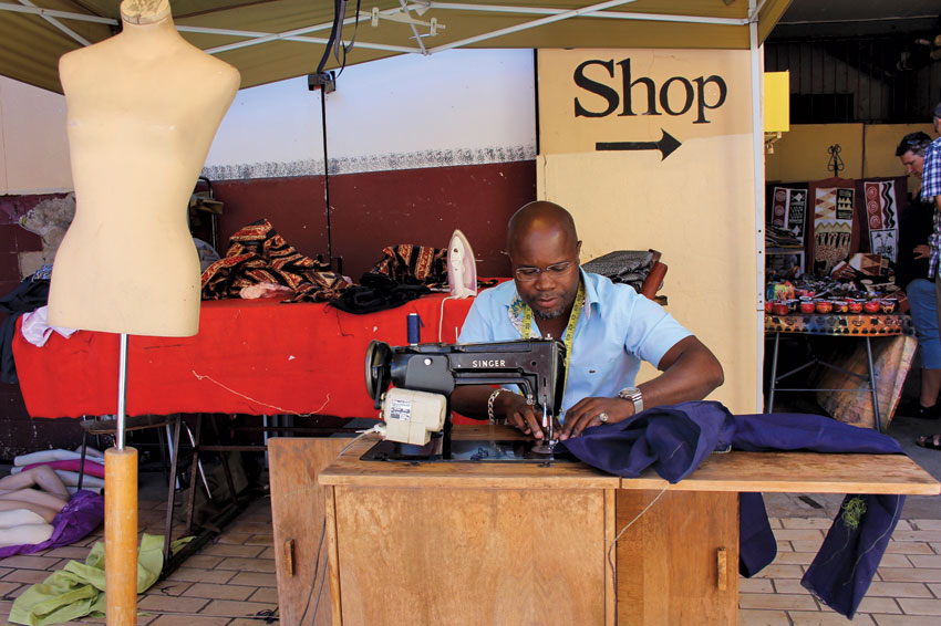 Vaniah's Tailor - Craft market, WIndhoek.
