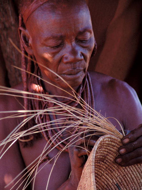 Basket weaving. PHOTO ©Open Africa