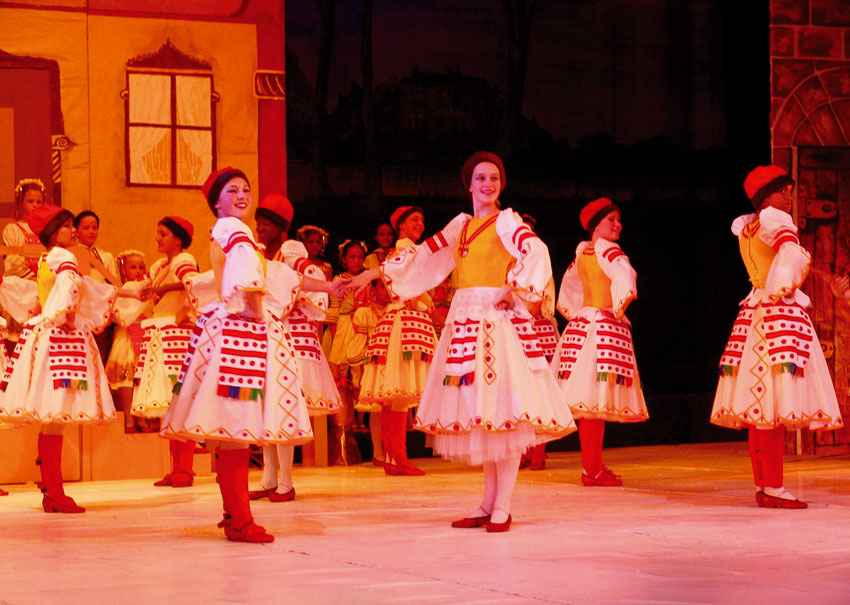 Ballet at the National Theatre of Namibia