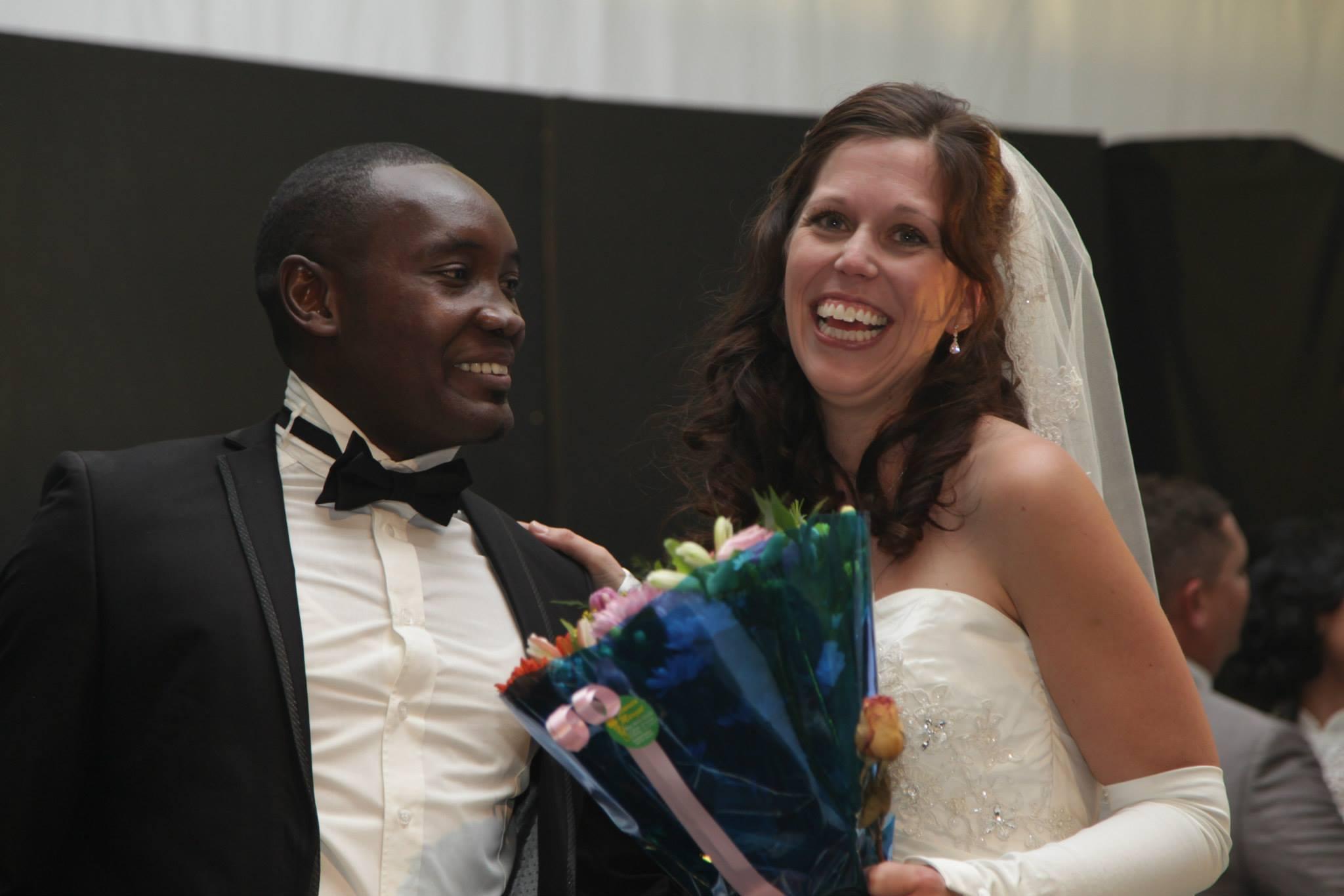 Winning Bridal Couple 2014: Patrick and Jennieke Kafuka. (Photo courtesy of Namibia Tourism Expo 2014 FB page)