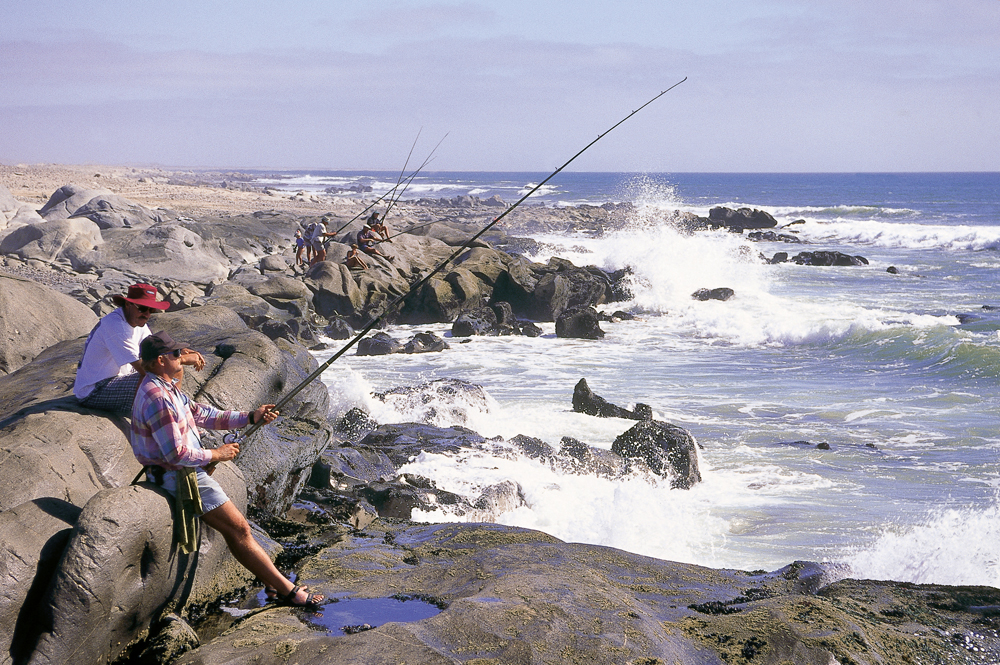 Coastal fishing. Photo ©Paul van Schalkwyk.