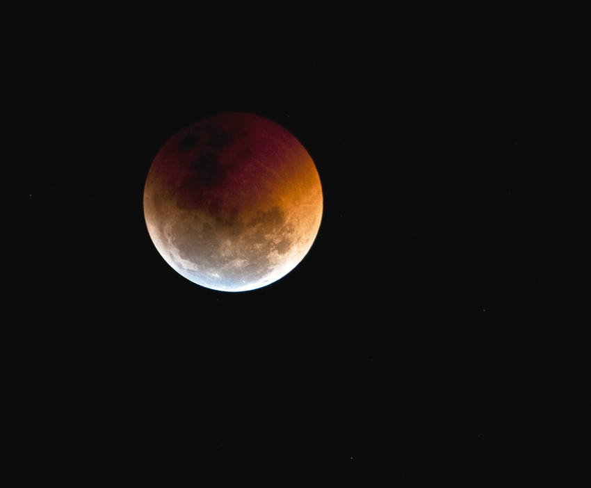 Lunar eclipse. Photo: ©Annabelle Venter