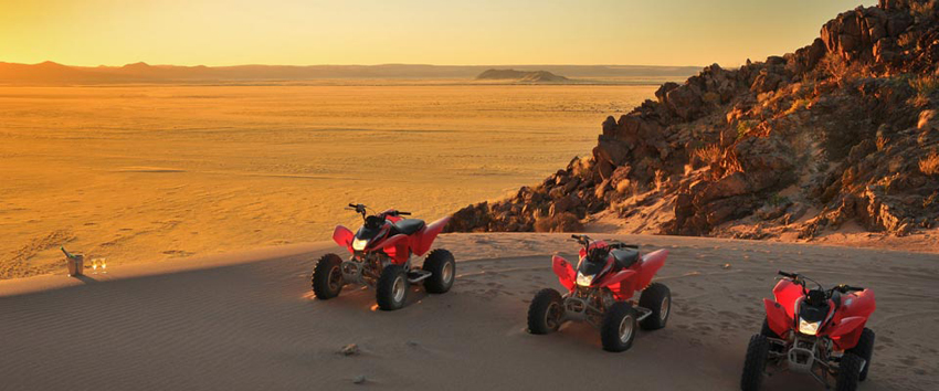 le mirage sossusvlei quad biking 4x4