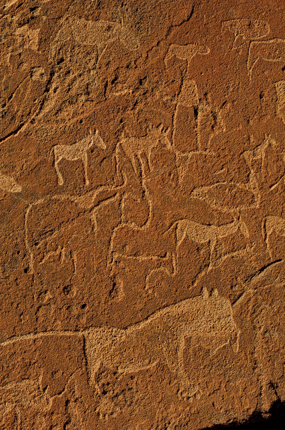 Rock Engravings. PHOTO ©Open Africa