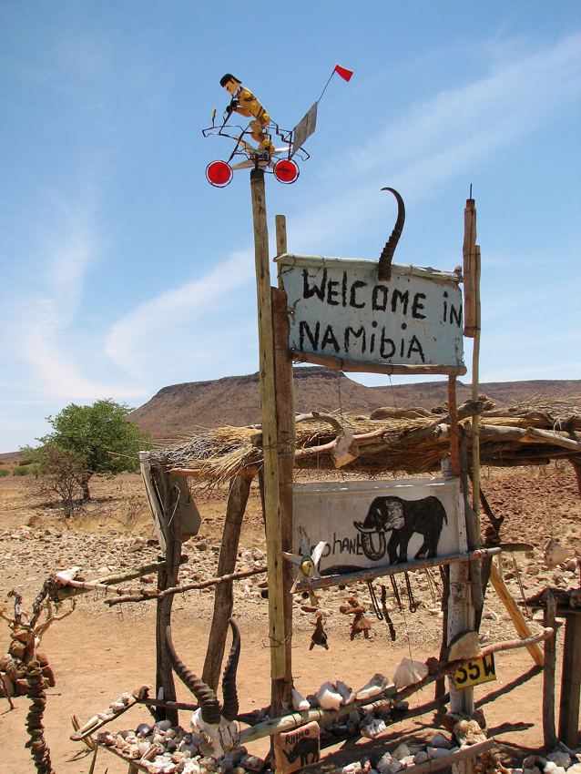 Welcome to Namibia. Photo ©Ron Swilling
