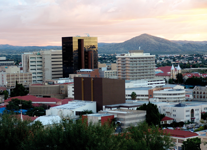 Windhoek city centre
