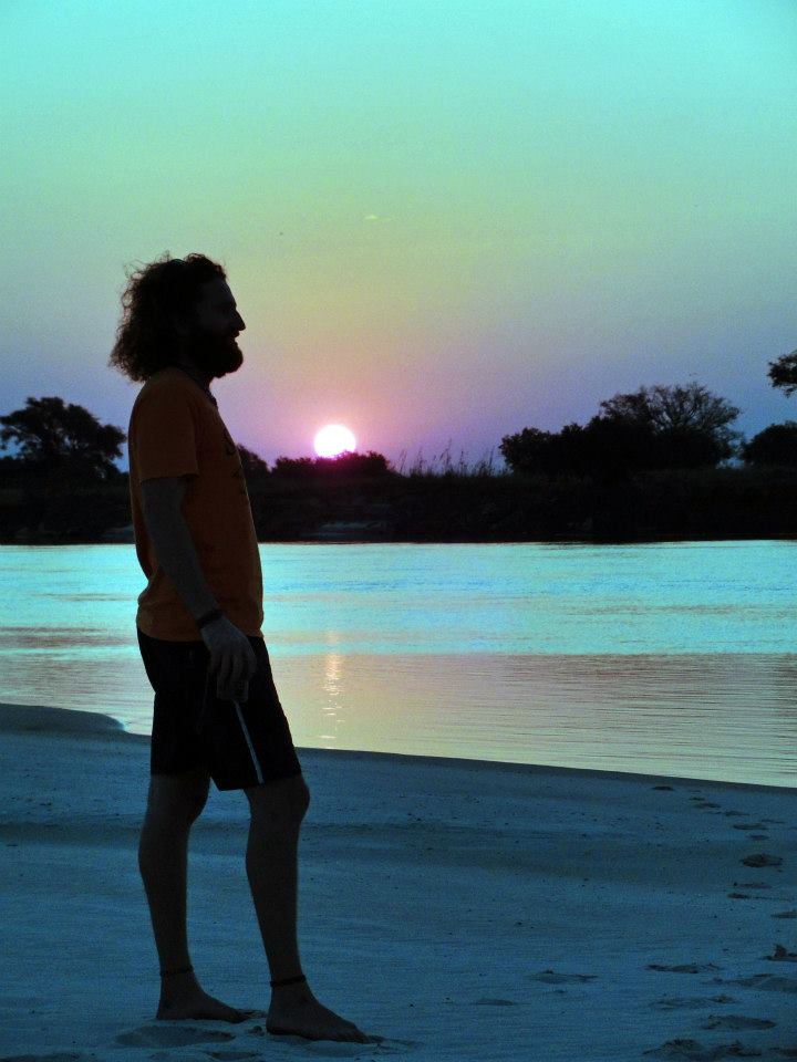 The Nomadic writer. Zambezi river.