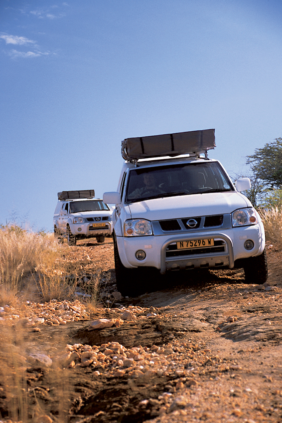 Off road driving with Camping car hire