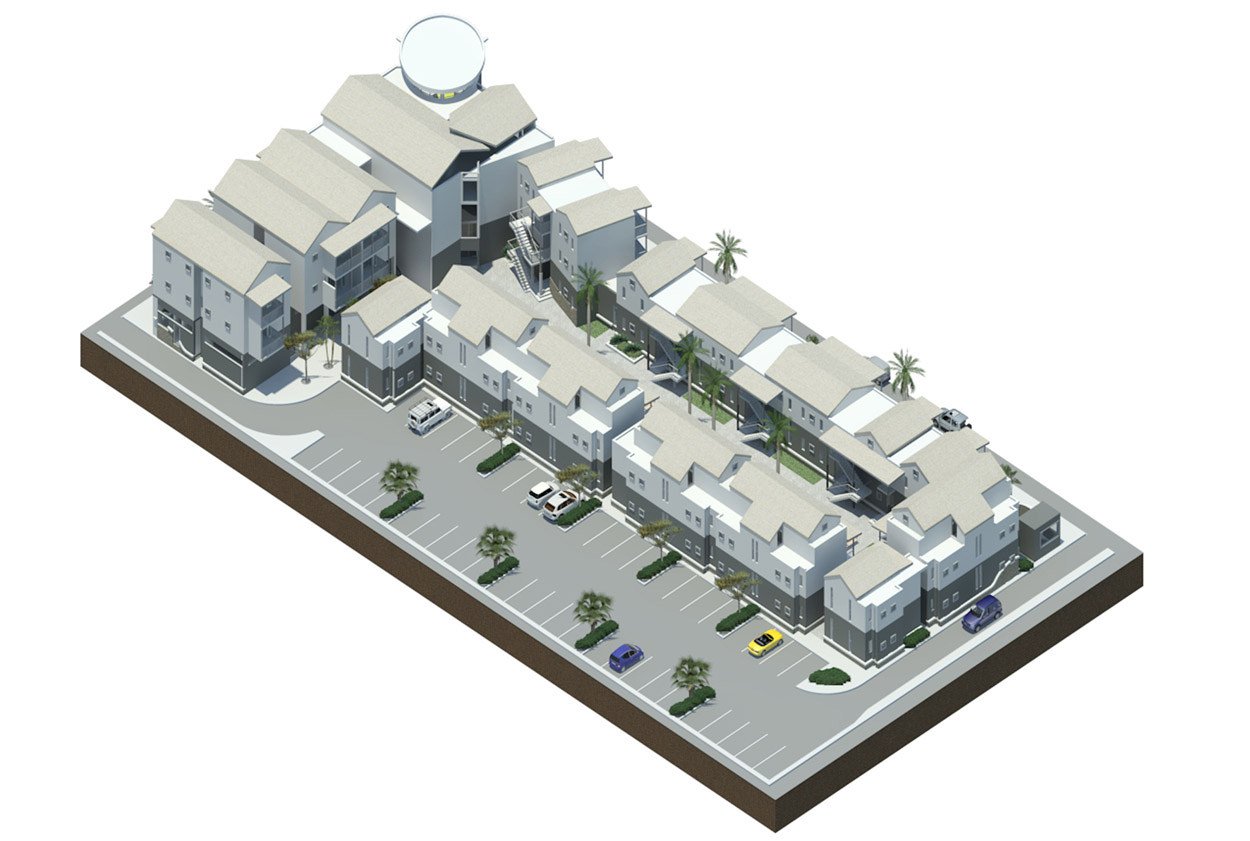A new development in tourism. A new hotel in Swakopmund  (plan above), financed by the Development Bank of Namibia, will create additional tourism revenue for Swakopmund and provide additional bed-nights in the key tourism resort, especially during high season when accommodation opportunities are limited.