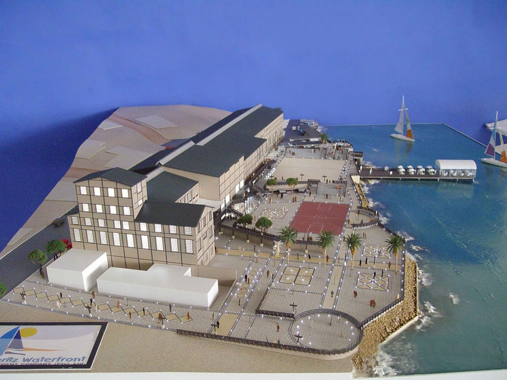 Artist's impression of the Waterfront.