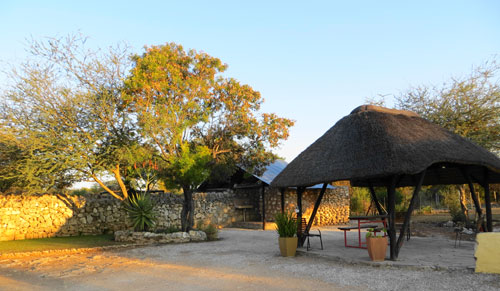Khorab Safari Lodge campsite. Photo ©Luise Hoffmann