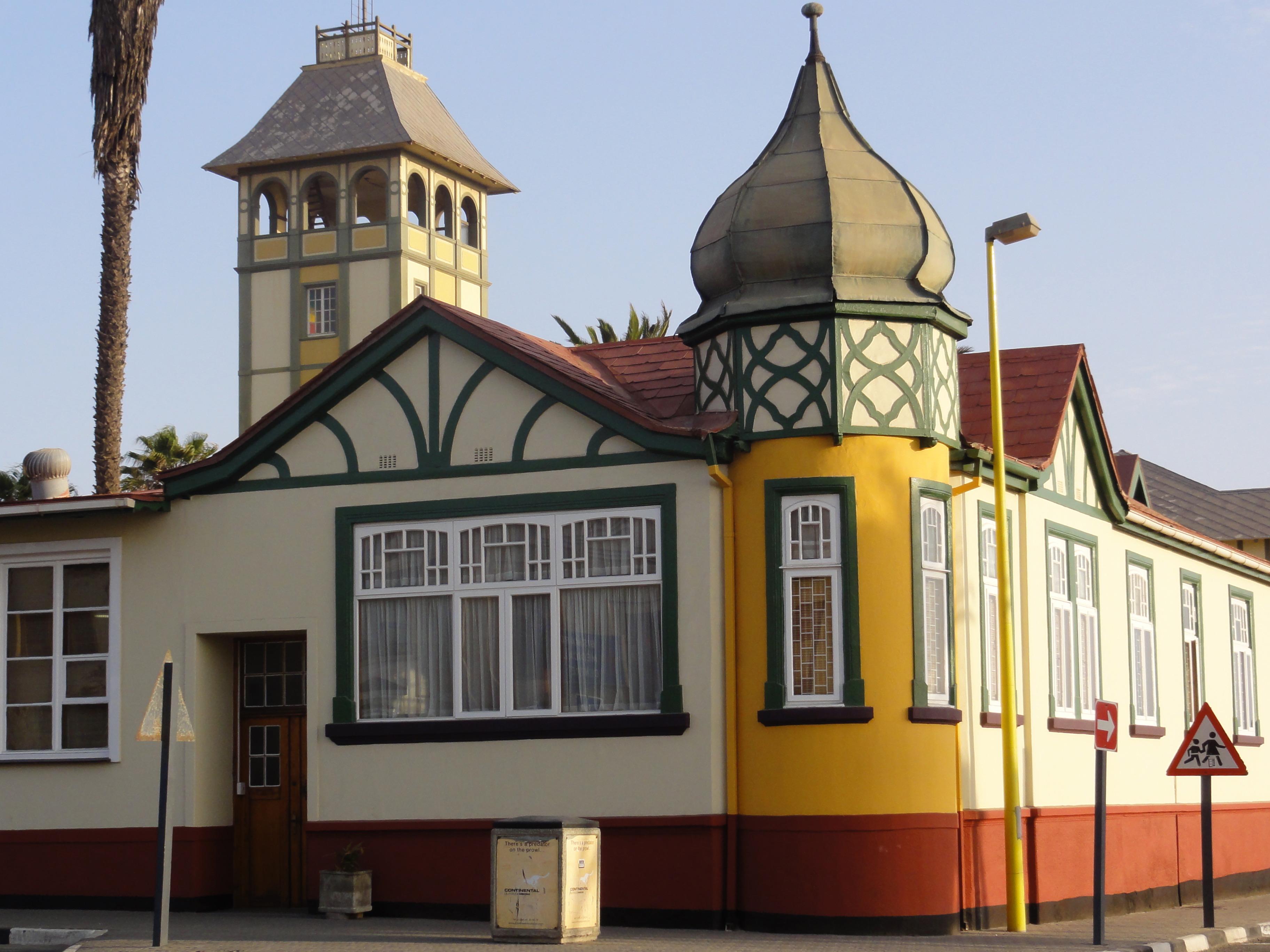 Woermann House, Swakopmund, Nina van Schalkwyk.