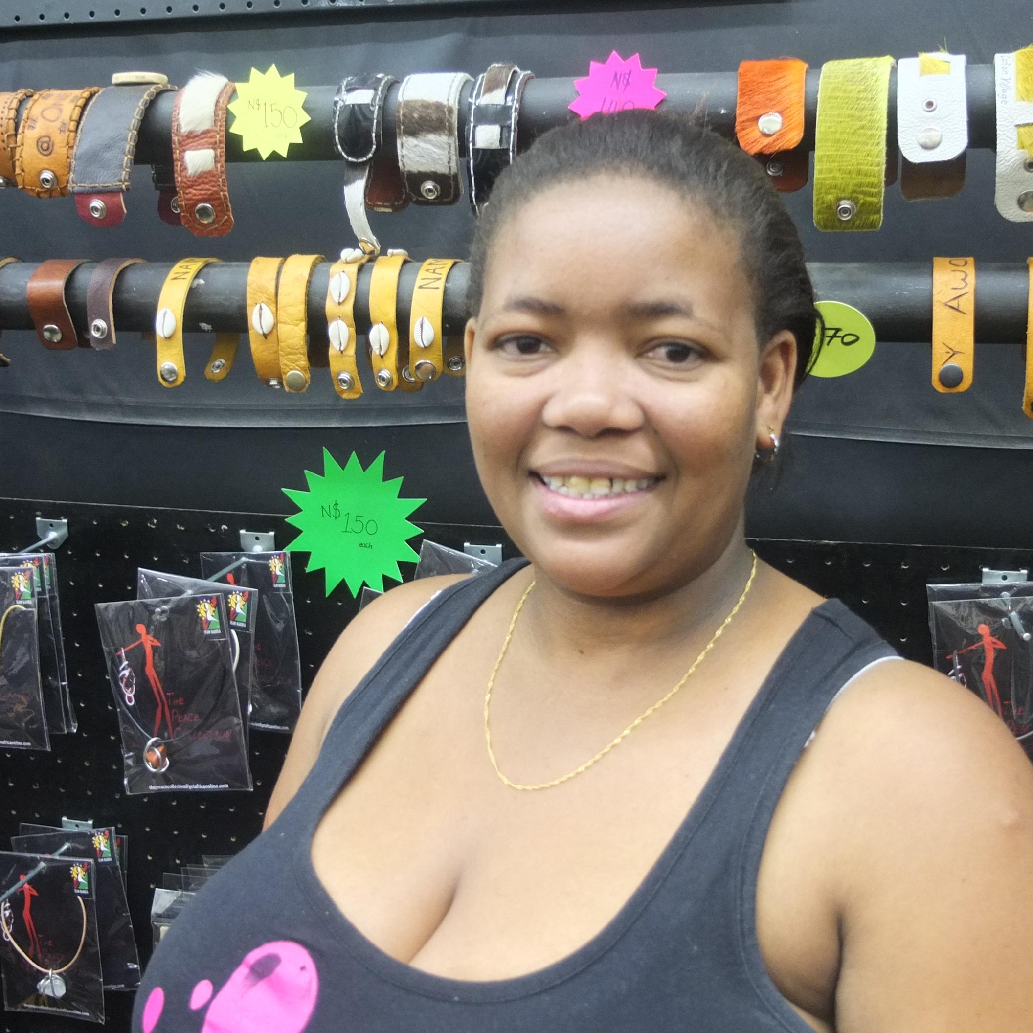 """Ingrid """"Mona"""" Eichas - Sales Manager at Namibia Getaways"""