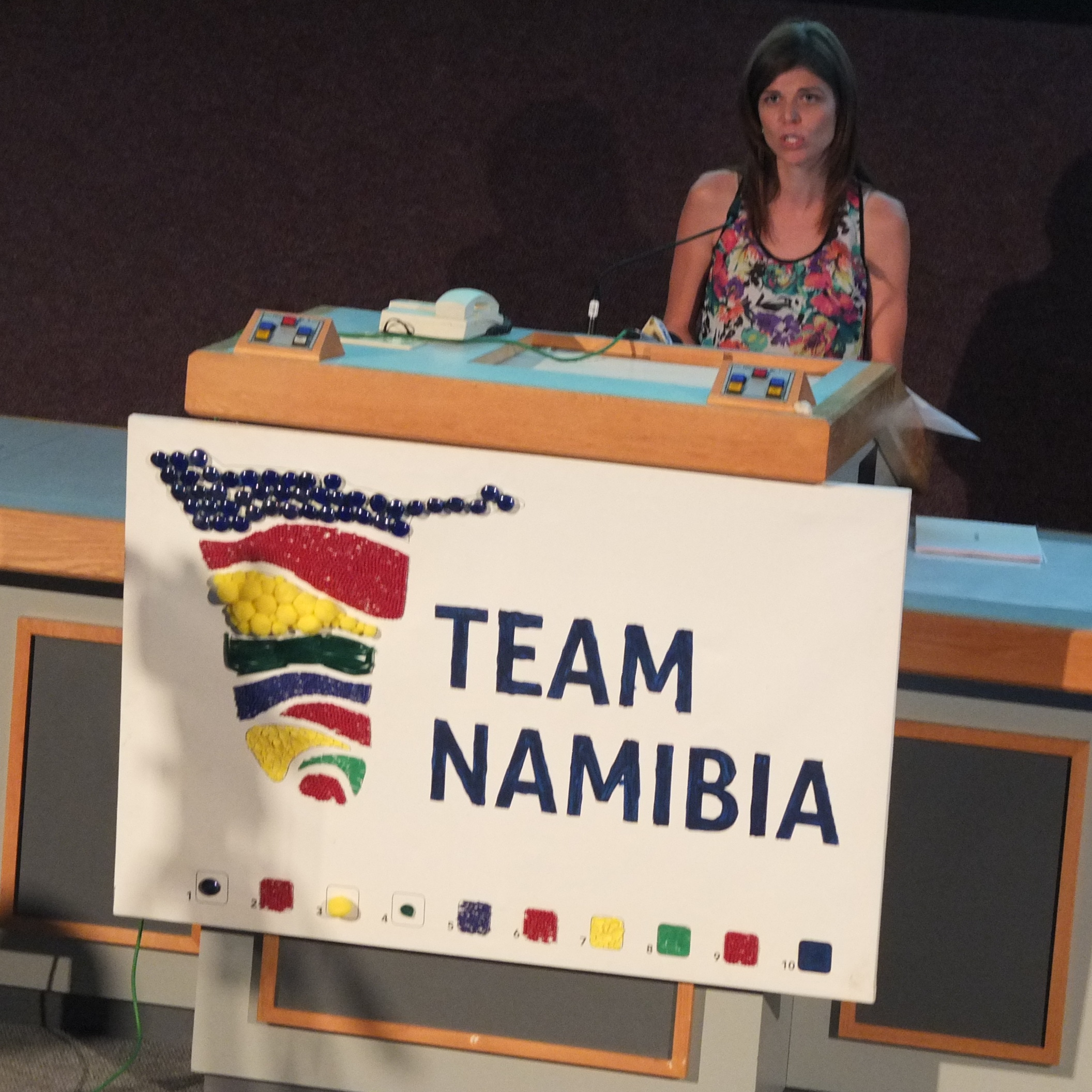 Lizette Foot, General Manager at Team Namibia