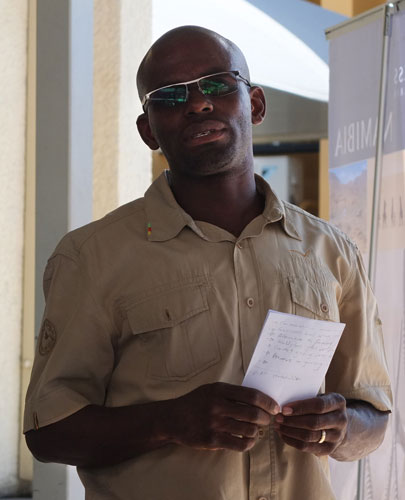 Wilderness Safaris community liaison manager Ketji Jermain