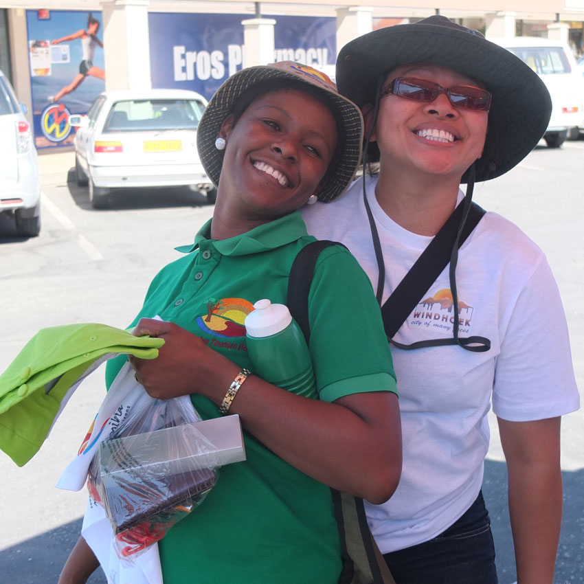 NTB and City of Windhoek tourism ambassadors are having a blast - join the fun!