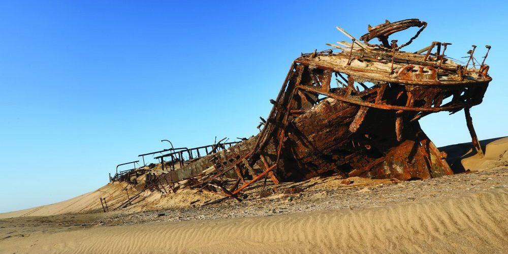 Eduard Bolen Shipwreck (Photo by Xenia Ivanoff-Erb)