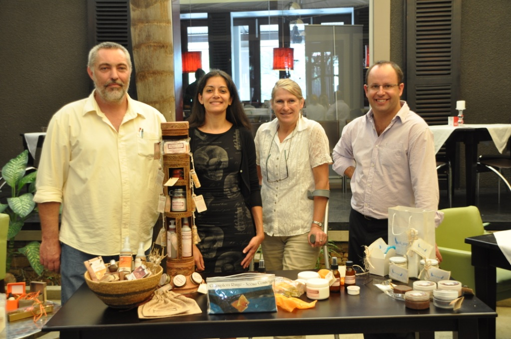 Judges (Left to right) Dave Cole, Fabienne Bourhis, Pauline Lindeque, Julian Fennessy