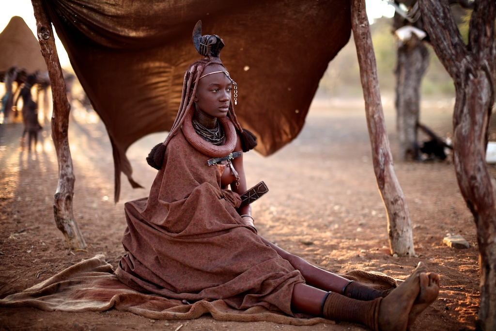 Documenting the Himba. Photo ©Alegra Ally