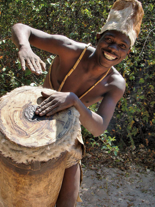 Drumming it up. PHOTO ©Open Africa