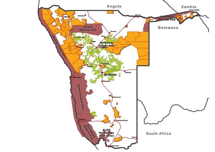 Conservation areas 2012