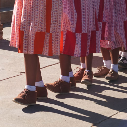 !Gorobahe Cultural Group - nifty dancing shoes