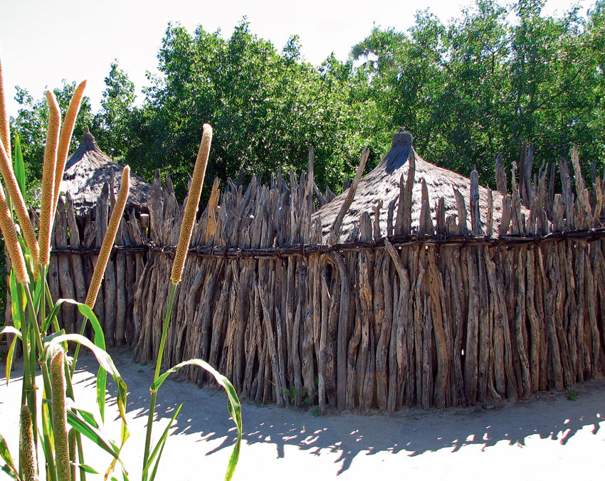Traditional homestead. PHOTO ©Open Africa