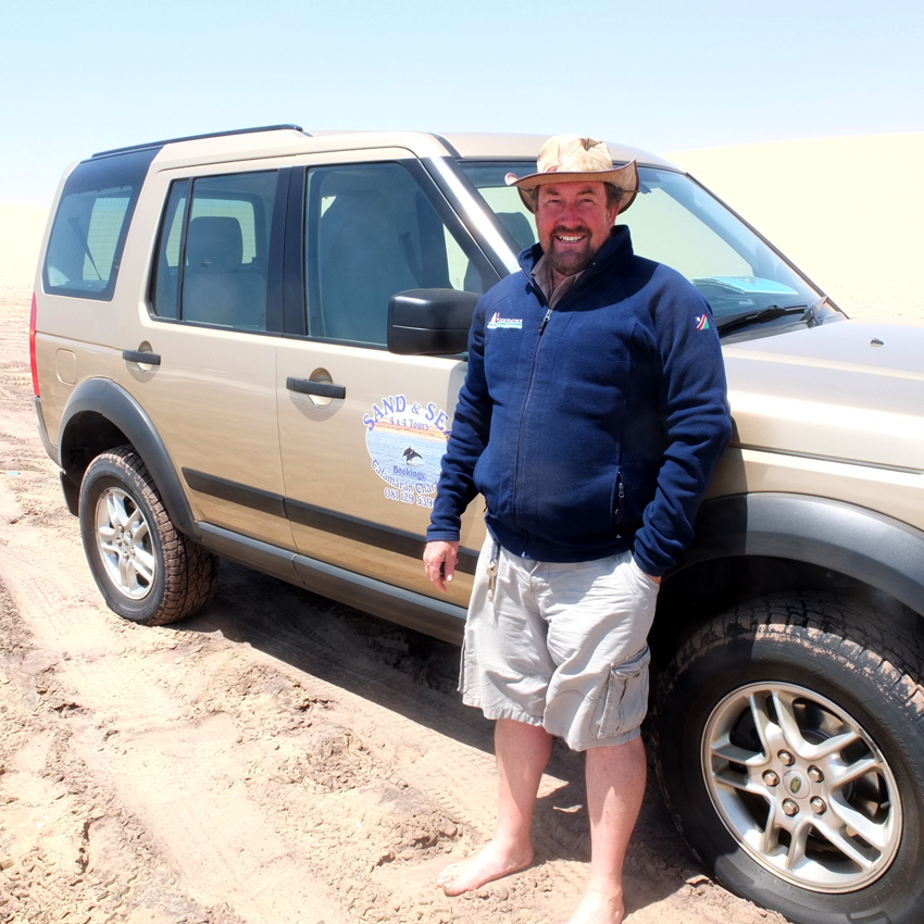 Mike Lloyd of 4x4 sand and sea tours
