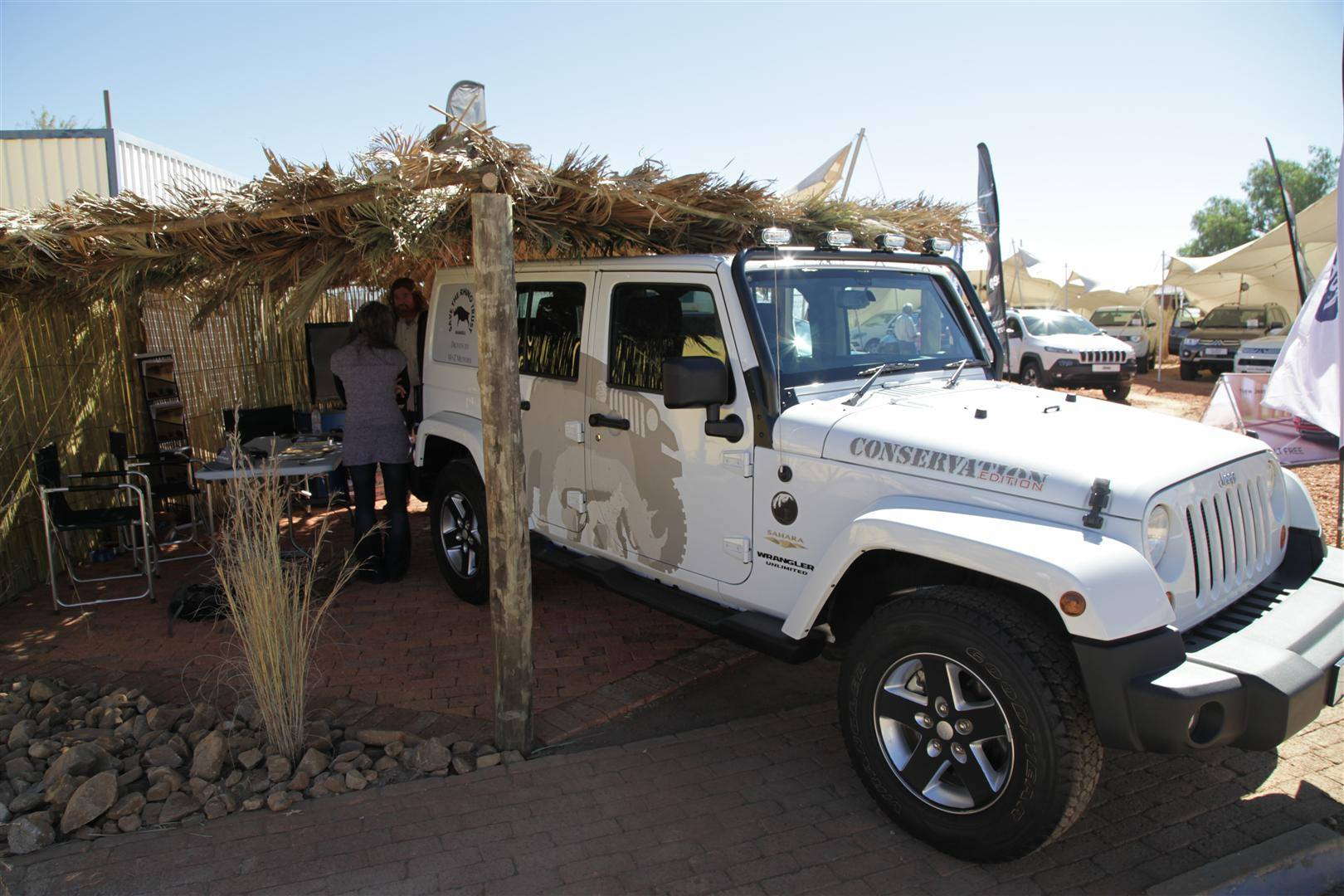 Best in show: Motorshow: M + Z. (Photo courtesy of Namibia Tourism Expo 2014 FB page)