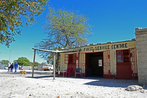 Shebeen or 'Cuca shop'. Photo ©Ron Swilling