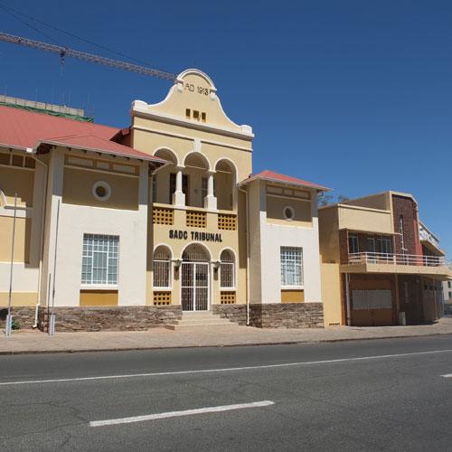 SADC tribunal - old Turnhalle building